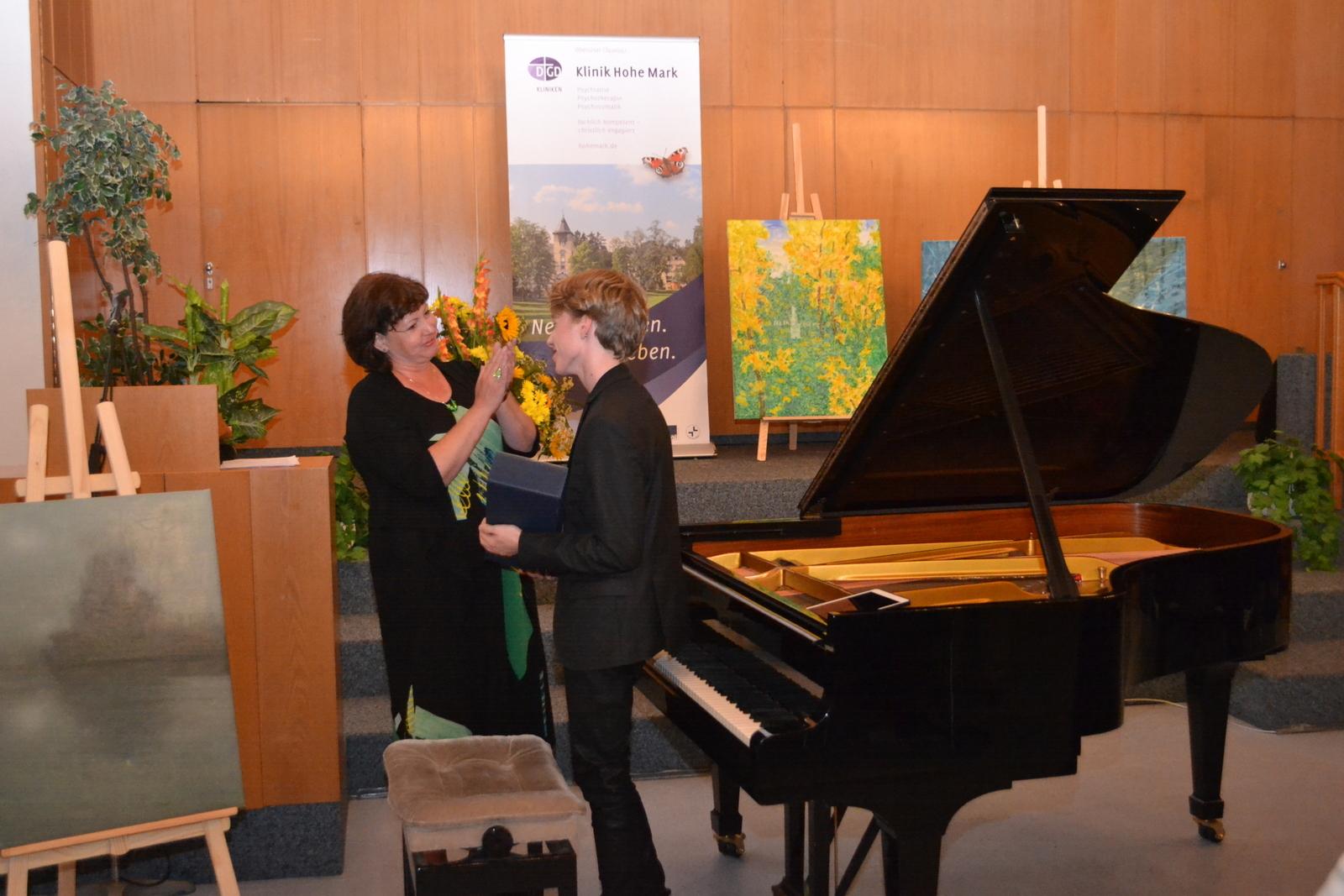 Dank von Krankenhausdirektorin Anke Berger-Schmitt Dank von Dr. Hans-Werner Dildei