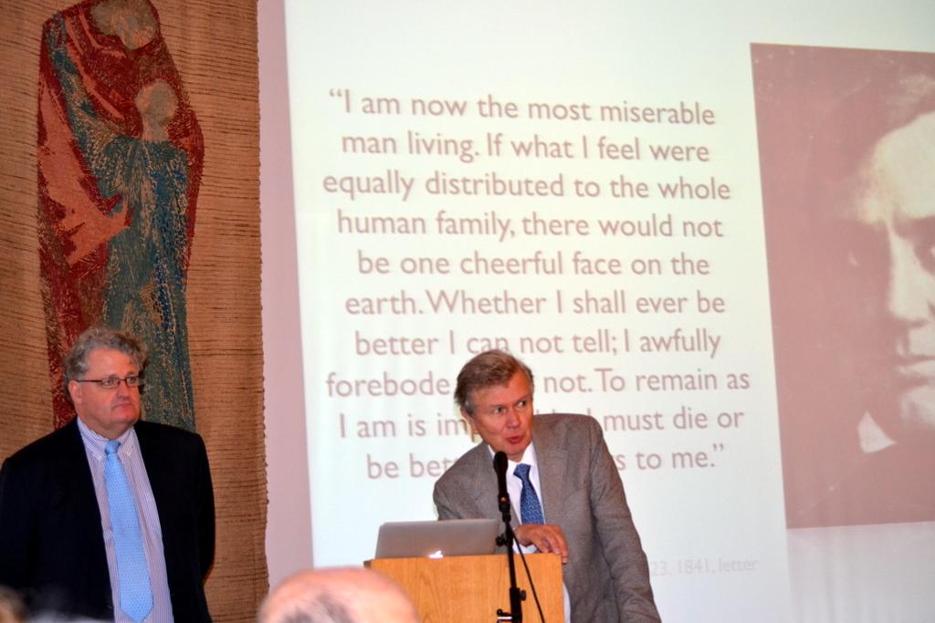 Prof. Dr. Thomas E. Schläpfer und Prof. Dr. Arnd Barocka
