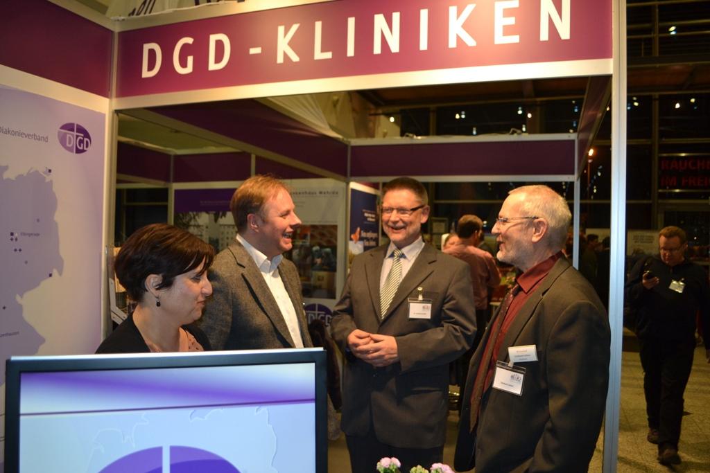 Die DGD-Kliniken auf dem Gnadauer Kongress 2013 in Erfurt