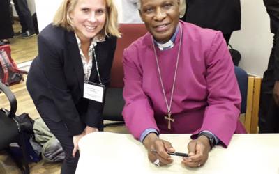 Klinik Hohe Mark: Ärztin trifft südafrikanischen Erzbischoff