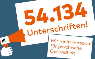 """Klinik Hohe Mark: Petition """"Mehr Personal und Zeit für psychische Gesundheit"""""""